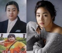 10 Foto Sebelum & Sesudah Artis Korea Diet Untuk Memotivasimu